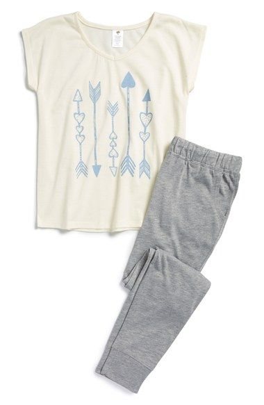 Tucker + Tate Two-Piece Pajamas (Little Girls & Big Girls) | Nordstrom