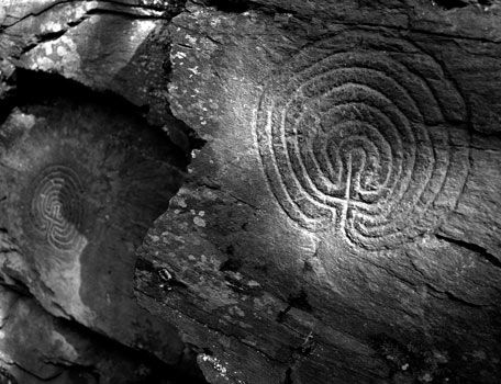 The Rocky Valley Labyrinths  (near Tintagel - North Cornwall)