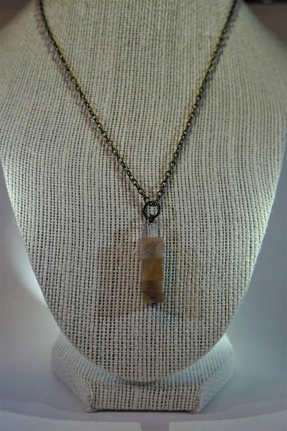 Bronze stone necklace, pendant, jewelry https://www.etsy.com/ca/listing/484267097/multicolored-stone-necklace