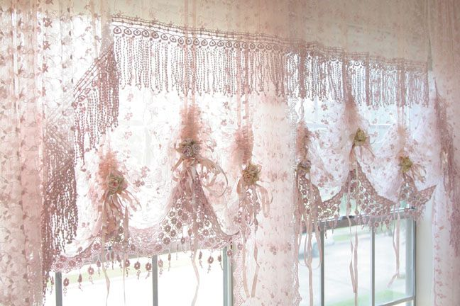 White Lace Swag Curtains | Country curtains catalog in Table Linens - Compare Prices, Read