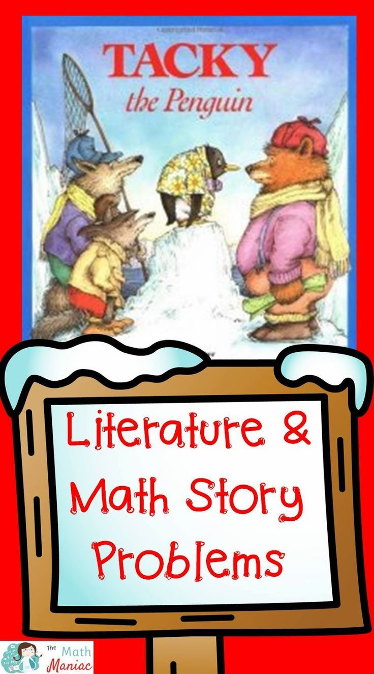best images about math and children s literature word problem task cards to go along this fun penguin themed book these math problems will help your students build their understanding of place