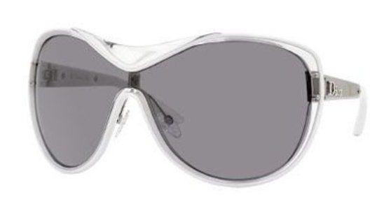 Christian Dior Striking Crystal White Palladium/gray Shaded Sunglasses #petproducts #pet_supplies #christiandior #sports_sunglasses #accessories #sunglasses