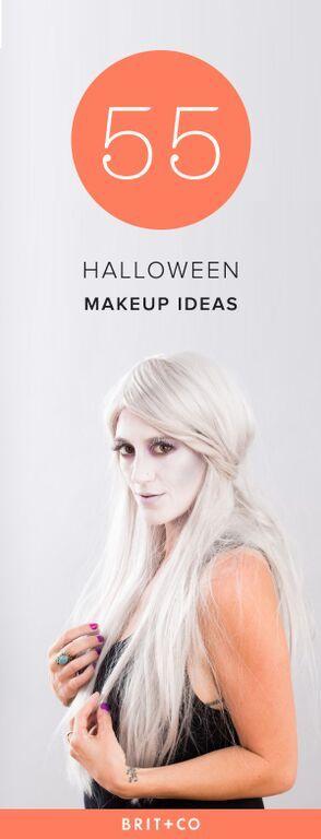 Schminke Halloween selber machen Puppe zerstört