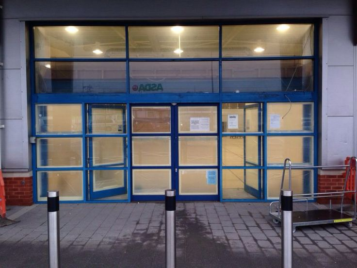 Curtain walling section that was electrostatically re-coated in Bristol by one of our local teams. To read more on this and other jobs carried out by Vanda Coatings visit http://www.vandacoatings.co.uk/ #spraypaint #commercial #paint #shopfront