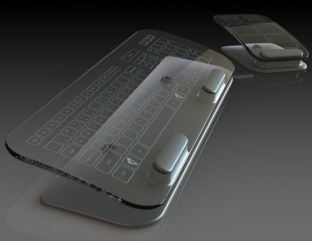 Cleartouch Multi-Touch Keyboard & Trackpad by TransluSense