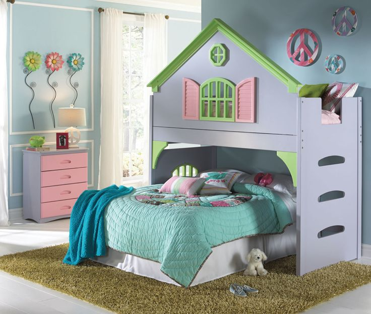 Doll House Twin Loft Bed