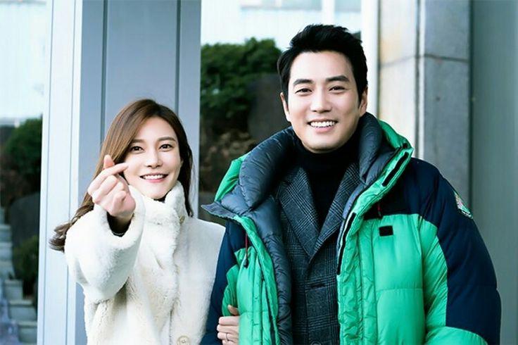 Cha Ye Ryun  and  Joo Sang Wook