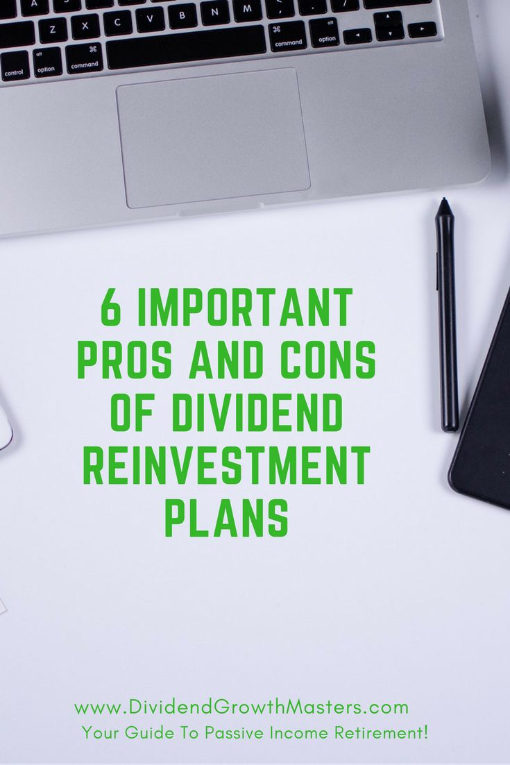 Should you take cash dividends or reinvest them instead? What are dividend reinvestment plans (DRIPS). Here are 6 important advantages and disadvantages of DRIPS you need to know! Learn how to increase your dividend income and maybe even purchase stocks at a discount! Start your retirement planning today and reach passive income retirement! Click through to read the full post!