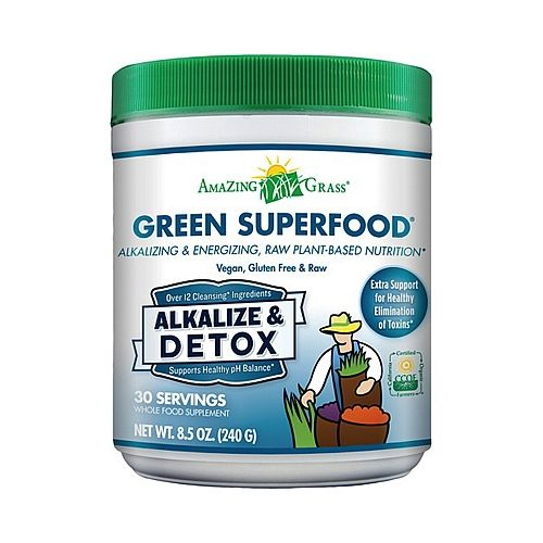 Amazing Grass® Green Superfood® Alkalize & Detox - AMAZING GRASS - GNC