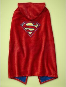 Superman towel cape!  $39.95  www.junkfoodclothing.com