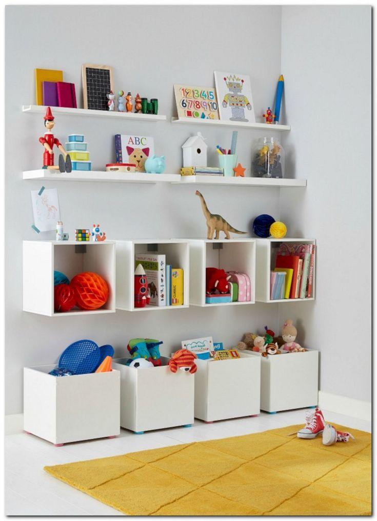 Großartige Idee 45+ Beste DIY Spielzeug-Aufbewahrungsideen für kleine Räume decoredo.com