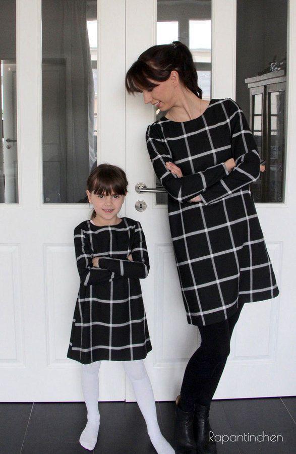 A-Linien-Kleid MISS LONDON mit Nähanleitung und Schnitt