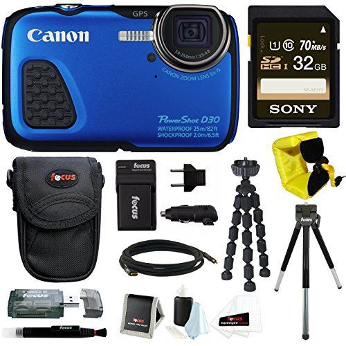 Canon PowerShot D30 Waterproof Digital Camera (Blue) + 32GB SD HC Memory Card + Accessory Kit review - https://www.bestseller.ws/blog/camera-and-photo/canon-powershot-d30-waterproof-digital-camera-blue-32gb-sd-hc-memory-card-accessory-kit-review/