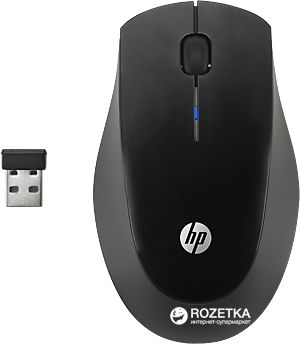 HP Wireless Mouse X3900 Black (H5Q72AA)