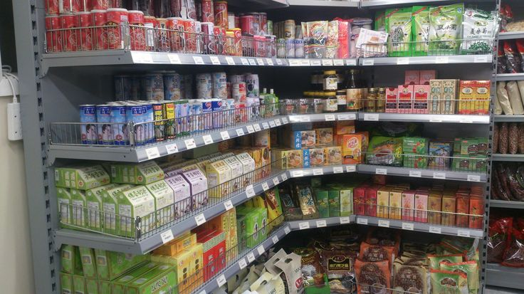Fantastic retail shelving image from Ocean Supermarket