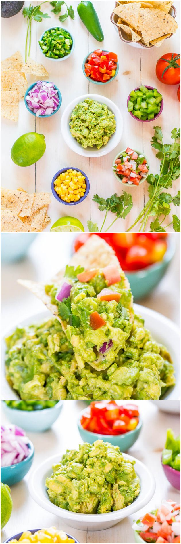 Do-It-Yourself Guacamole Bar makes a great party idea that everyone loves!