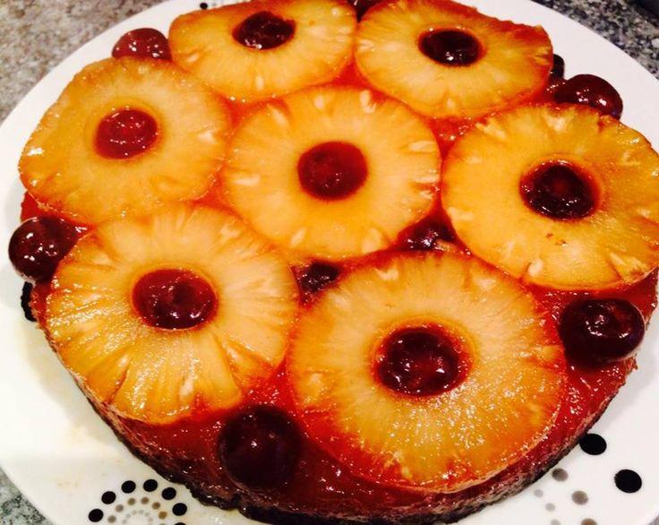 Upside Down Pineapple Cake YUM!! xMCx