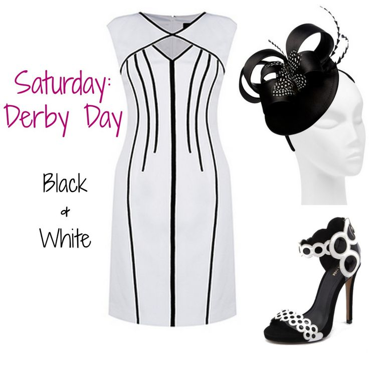 Derby Day kicks off the Melbourne Cup Carnival with a black and white theme. #racing