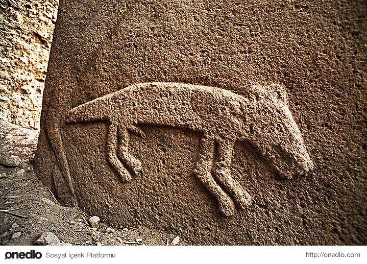 5. Mağara duvarlarındaki resimlerden kabartma hayvan figürlerine: Mağarada duvarlarındaki avcılığı temsil eden resimlerden ziyade burada hayvan figürleri tek ve kabartma olarak işlenmiş, sanatsal açıdan farklı bir anlayışı etkileyici biçimde yansıtmaktadır. Taşlar üzerinde işlenmiş akrep, tilki, boğa, yılan, yaban domuzu, aslan, turna ve yaban ördeği figürleri yer almaktadır.