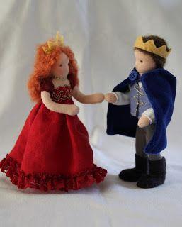Een kleine prinses in een rode jurk samen met haar prins zijn nu op reis naar Mexico.