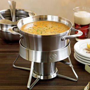 Queso Fundido - Another wonderful fondue recipe for Nathalie to try!