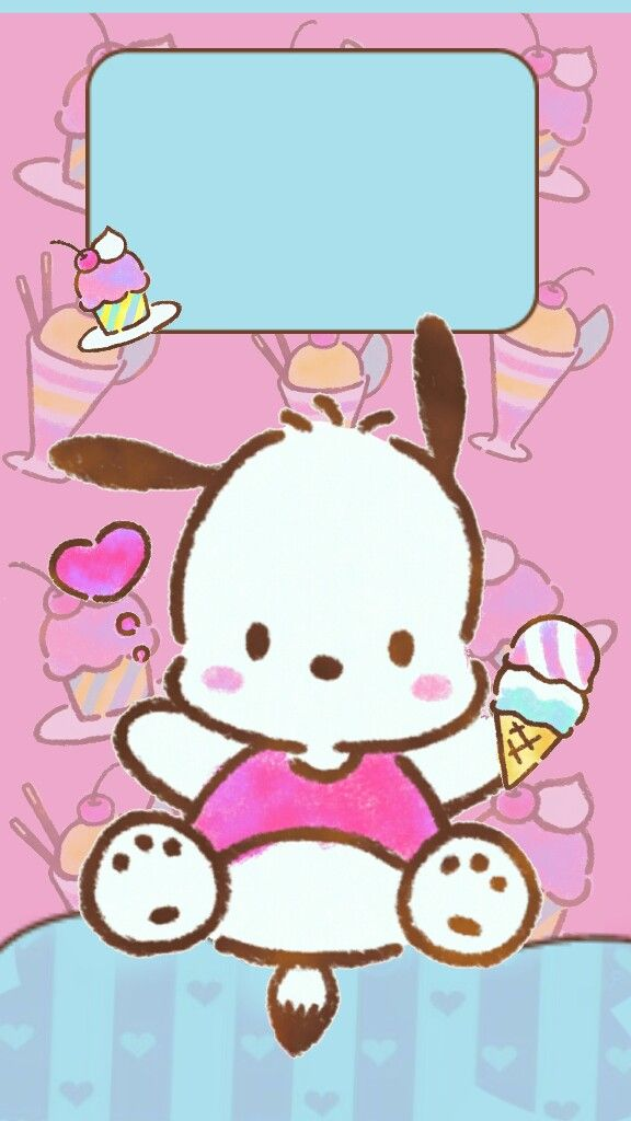 pochacco cute wallpapersbackgrounds kitty wallpaper