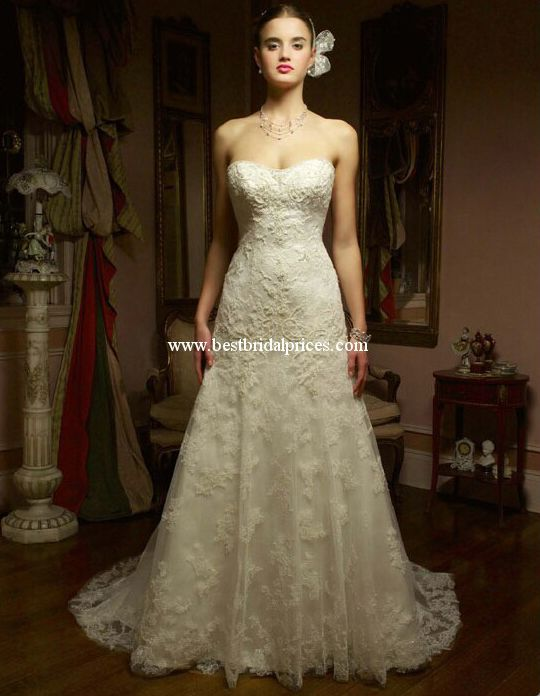 Casablanca Wedding Dresses - Style 1827