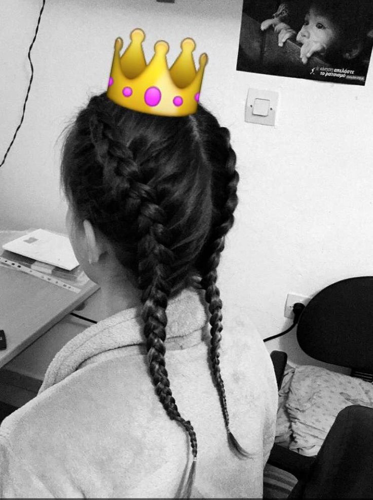 My favorite kind of braids. Two French braids today ✨ •Dbraids•