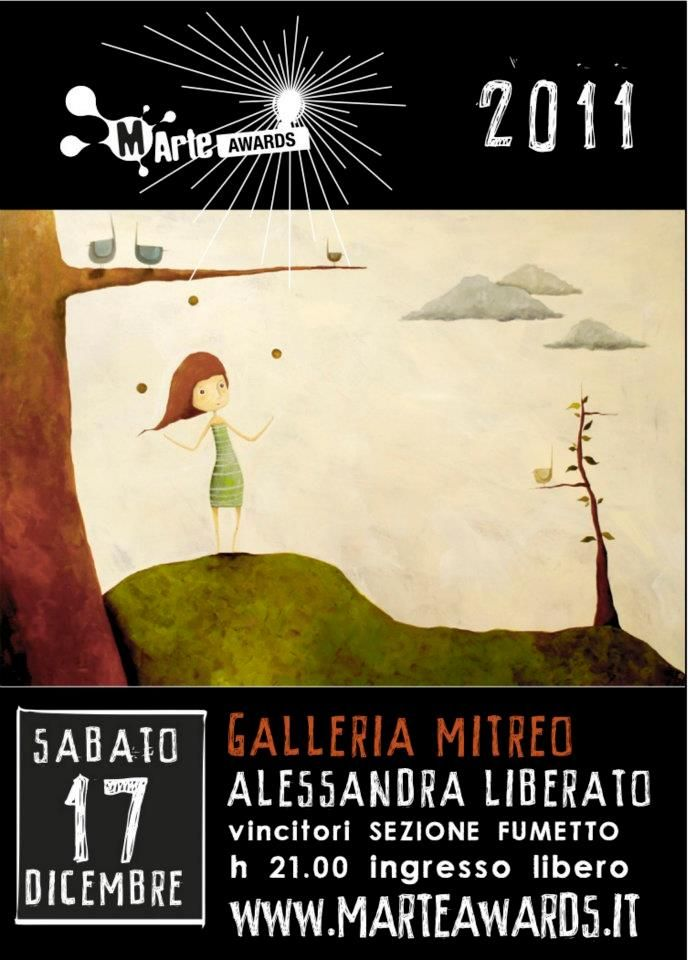 Alessandra Liberato - vincitrice sezione Fumetto #martelive