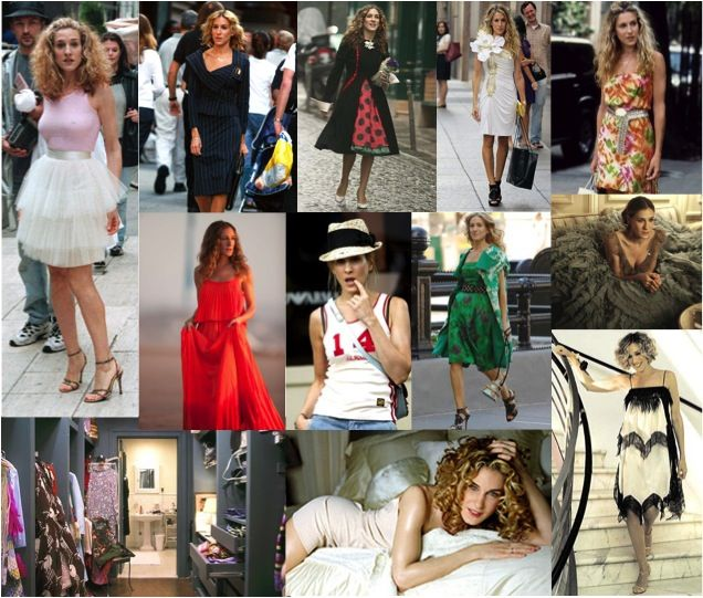carrie bradshaw outfits | Carrie Bradshaw's Best Outfits | sofischoice