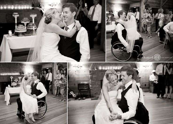 Wheelchair first dance