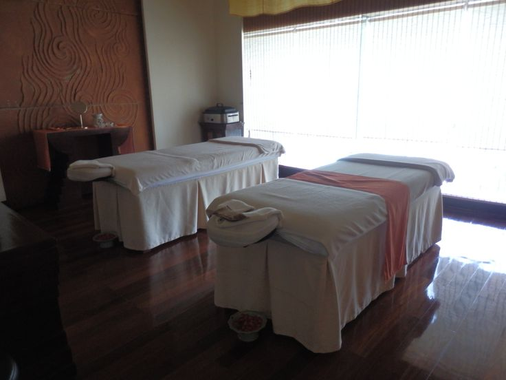 Treatment room at The Spa - Day Spa at the Hilton Hua Hin in Thailand