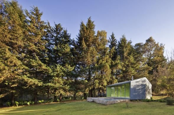 Pavilón u lesíka