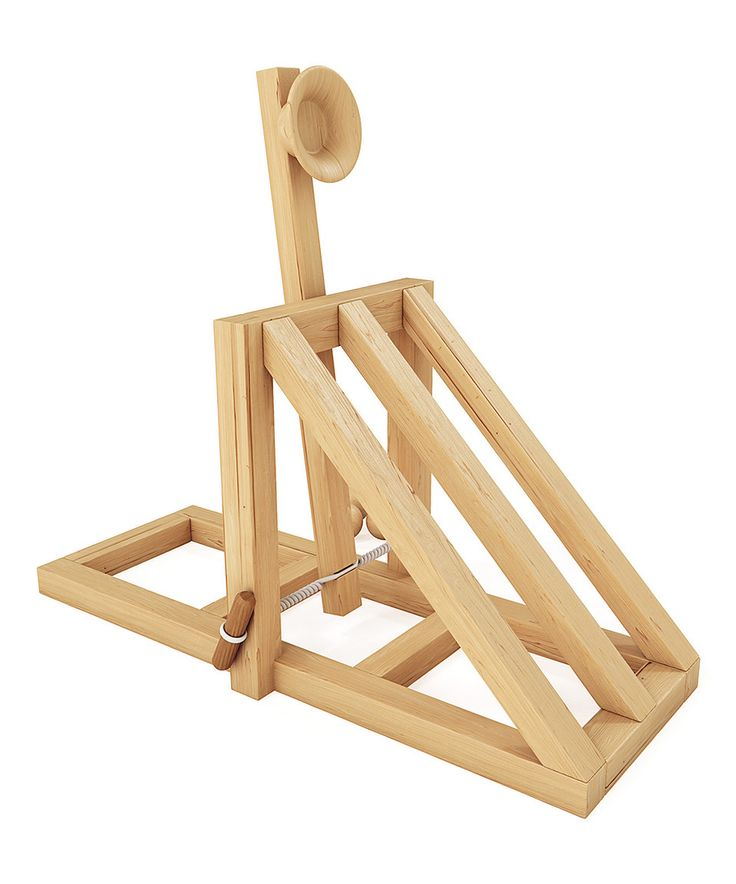 29 Best Catapult Ideas Images on Pinterest Catapult Wood Toys And