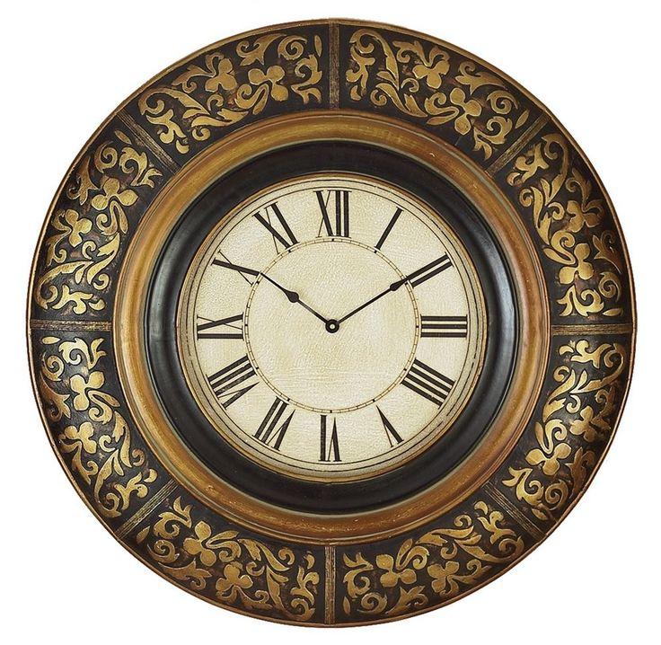 "Oversized 35"" Wall Clock"