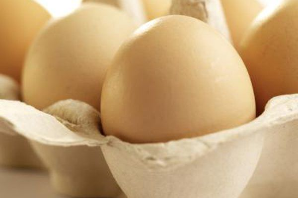 While eggs are not considered leavening agents, the egg whites, when beaten, can leaven by expansion of the air and by steam when heated.