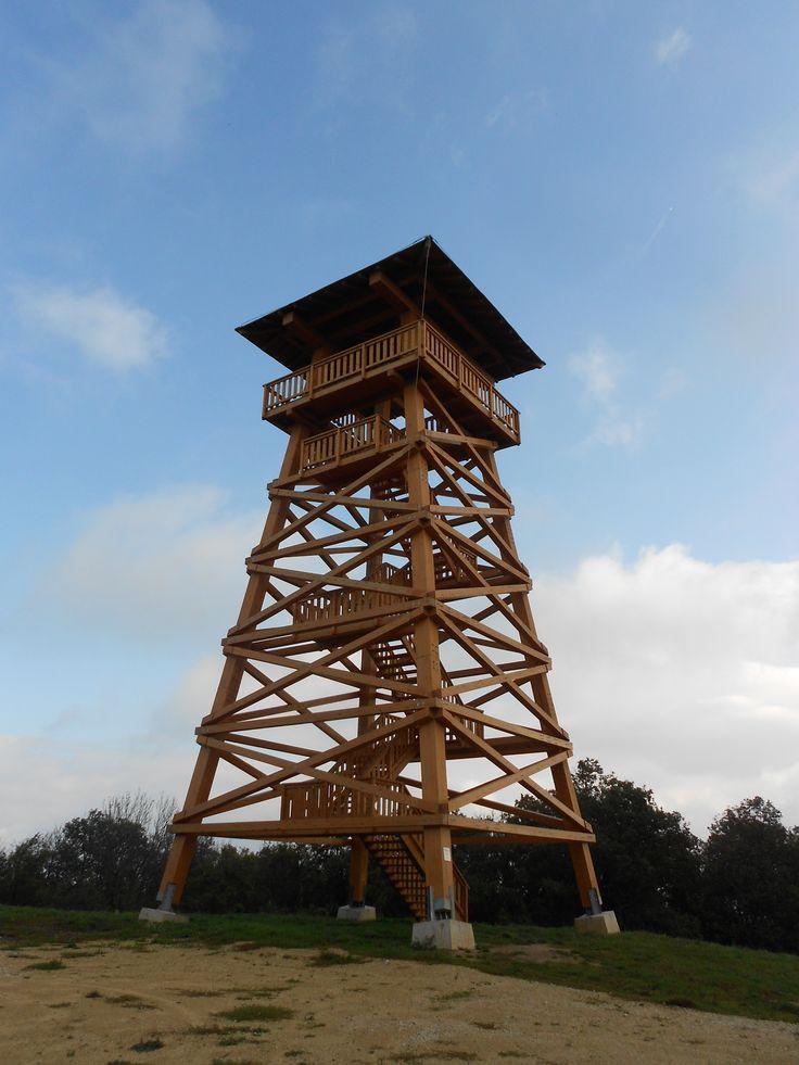 Papod-tető (644 m) in Hárskút, Veszprém megye