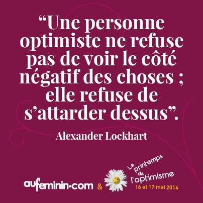 Optimiste #powerpatate #optimisme