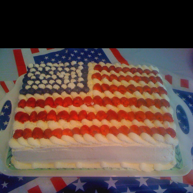 American flag cake recipes dishmaps for American flag cake decoration