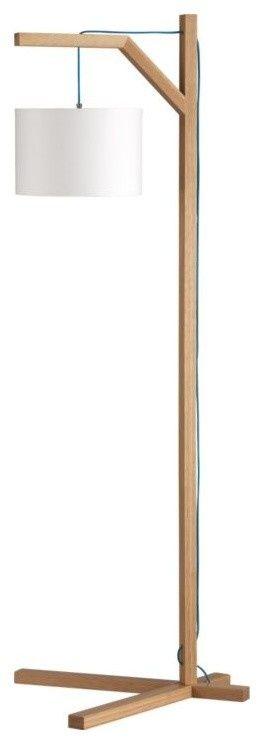 Simple wood lamp.