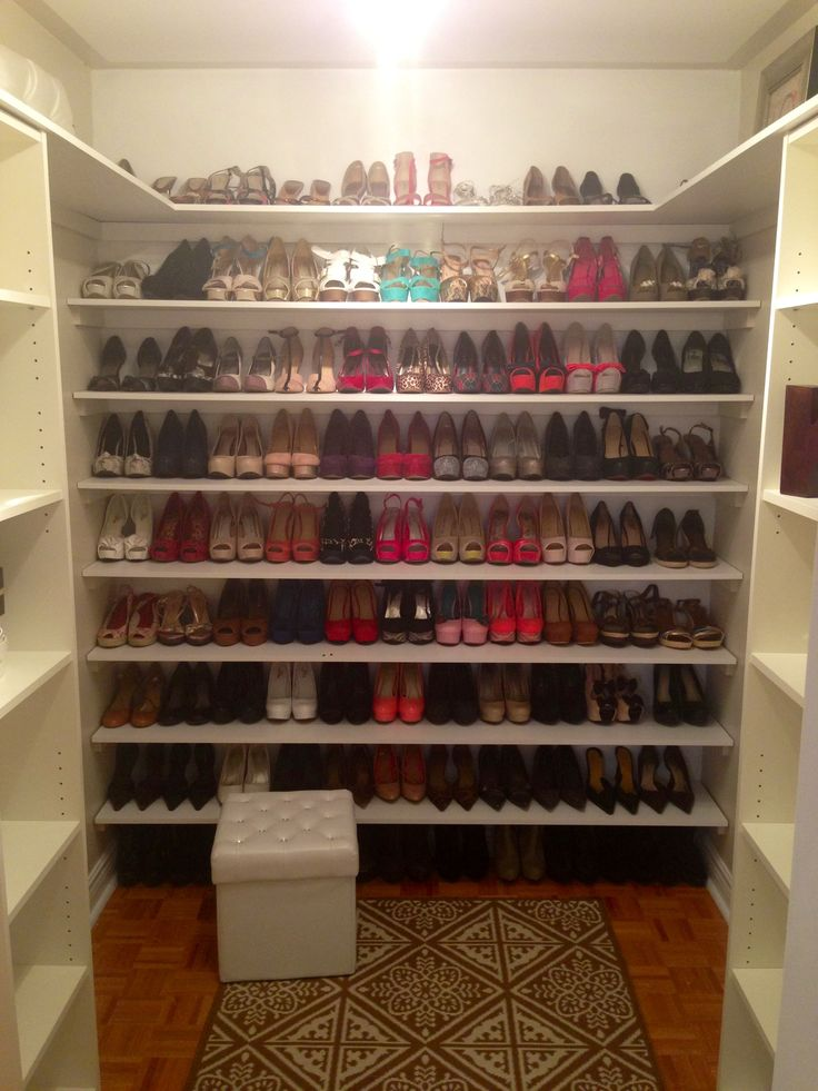 Attractive Simple Home Depot Shelves To Turn Your Walking Closet Into A Custom Looking  One!