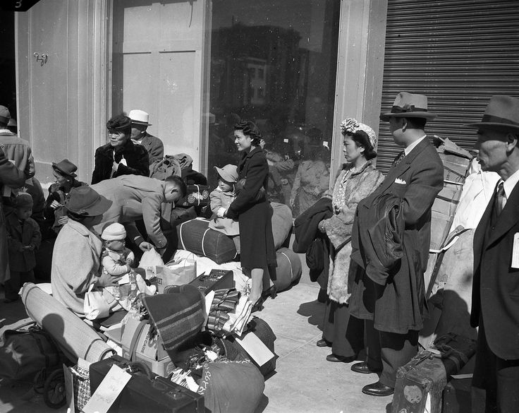 "The directives started in late December 1941, with a command for San Francisco citizens of Japanese ancestry to surrender their cameras and short-wave radios to the nearest police station.  In just a few months, federal authorities would forcibly expel a racial demographic from the city — using euphemisms like ""relocation"" while threatening severe measures, should anyone resist orders to move to the nearest internment camp.  A recently discovered cache of negatives, taken in 1941 and 1942 by…"