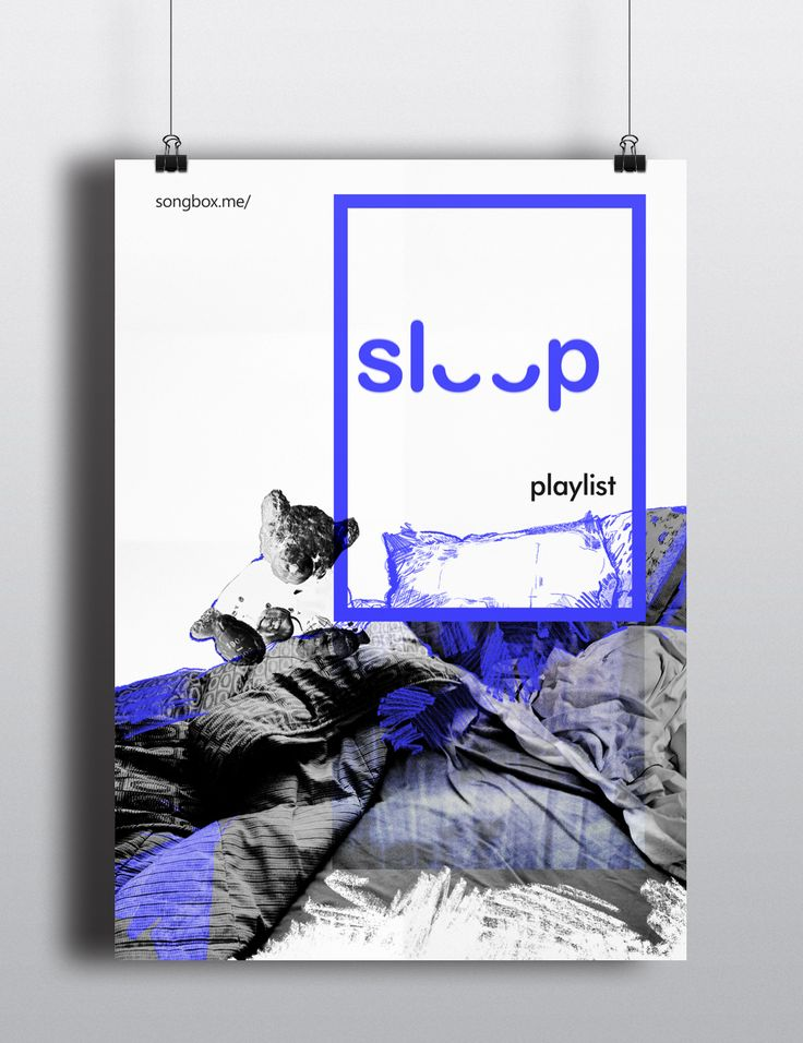 Poster Design Promoting Personalised Playlists on Behance