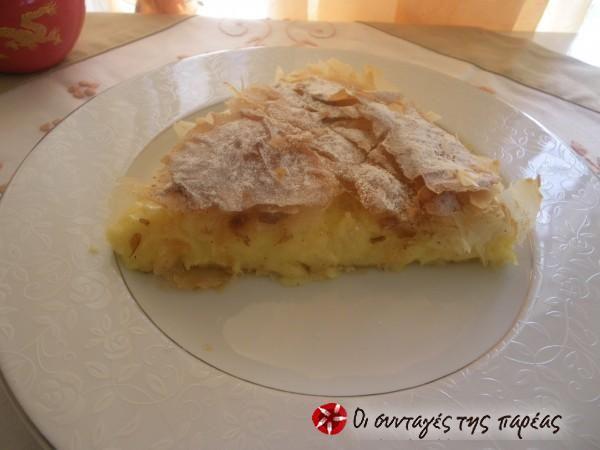 My grandma's milk pie #cooklikegreeks #milkpie