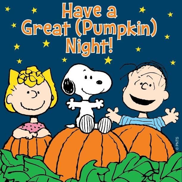 its the great pumpkin charlie brown - Charlie Brown Halloween Cartoon