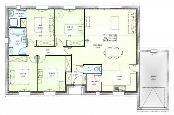 17 Best images about Plans de maison on Pinterest | House plans, Small house design and New home ...