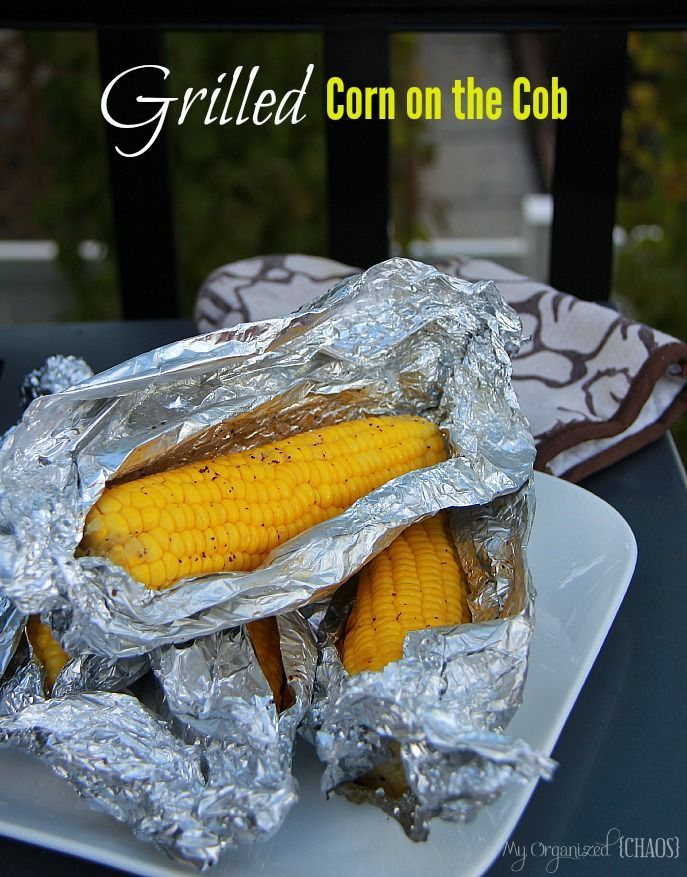 Cause life is too short to not Grill Corn on the Cob, the taste is so much better than boiling!