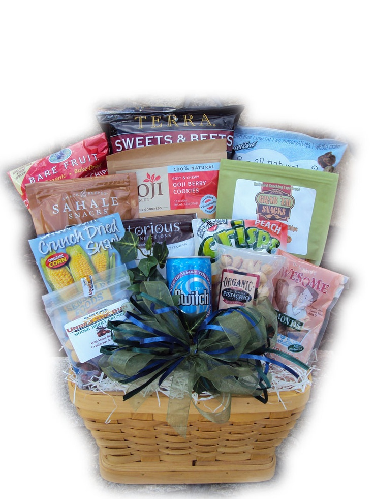 9 best gluten free gift baskets for mothers day images on pinterest dads a couch potato healthy fathers day gift basket negle Images