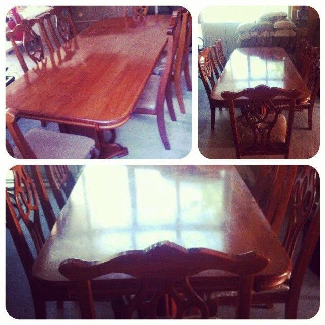 For Sale Wood Classic Dining Table For 6 Person Price 80 Bd للبيع طاولة طعام خشب كلاسك ل 6 أشخاص بحالة جدا ممتازة السعر 80 Dining Table Decor Table