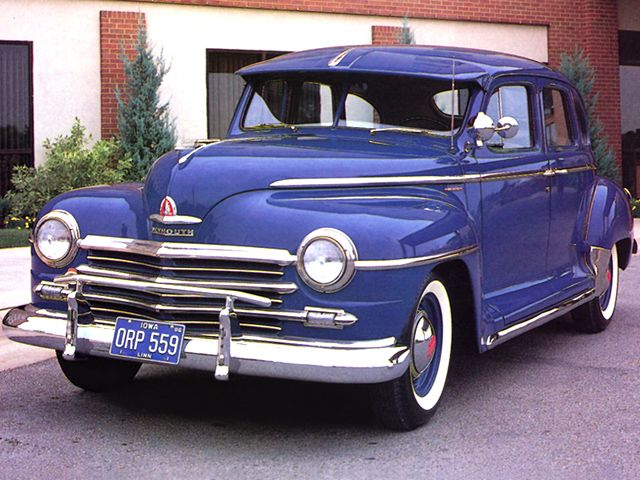 17 best images about plymouth clors on pinterest for 1946 plymouth special deluxe 4 door